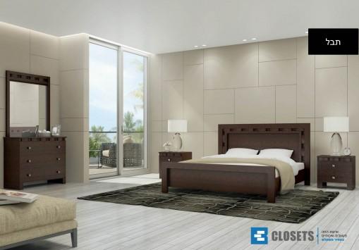 חדר שינה קומפלט מדגם תבל