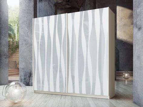 ארון הזזה איריס לבן